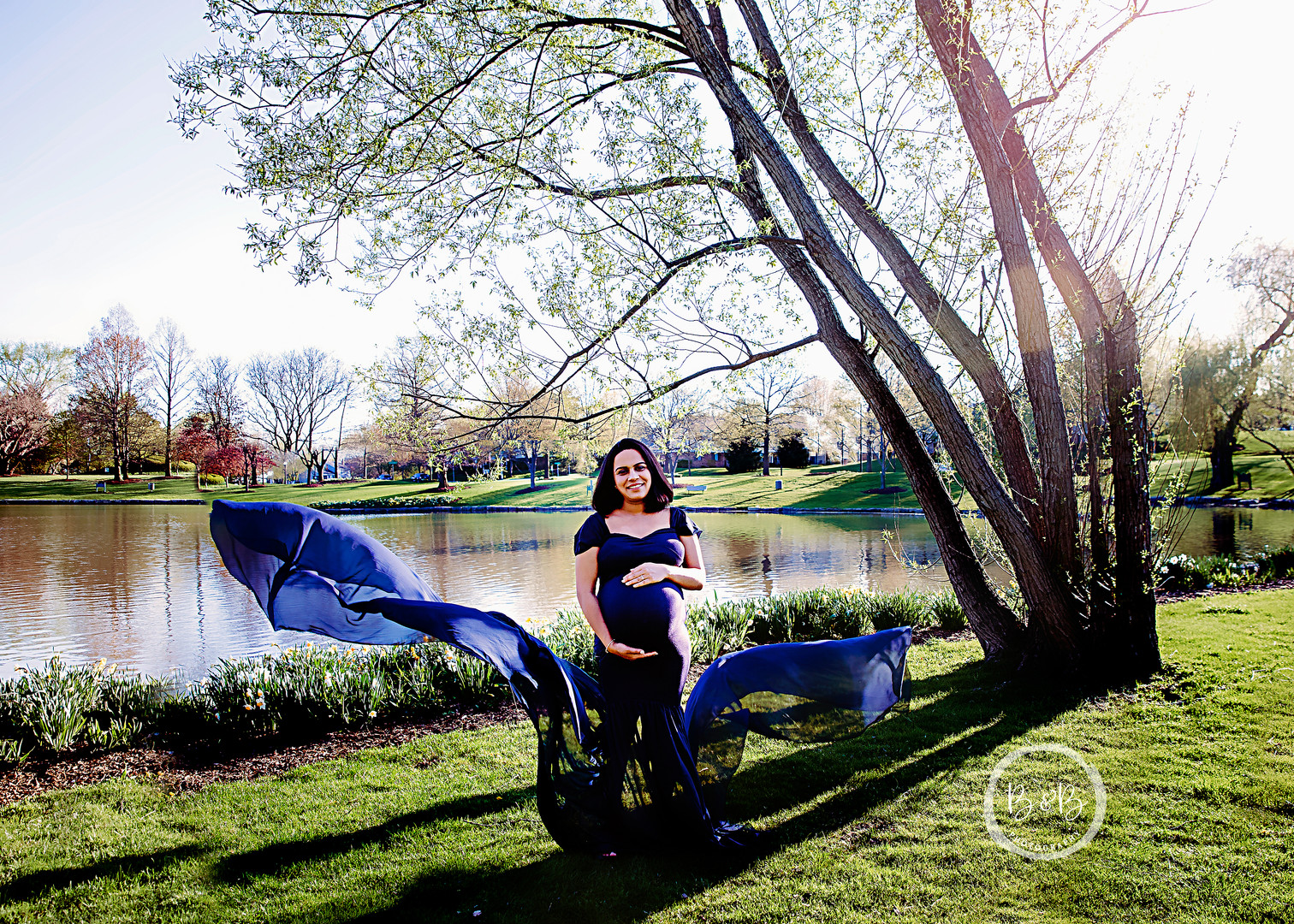 St Charles IL Maternity Photography Session