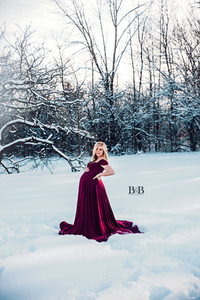Maternity session/Chicaboo gown/ B&B Photography
