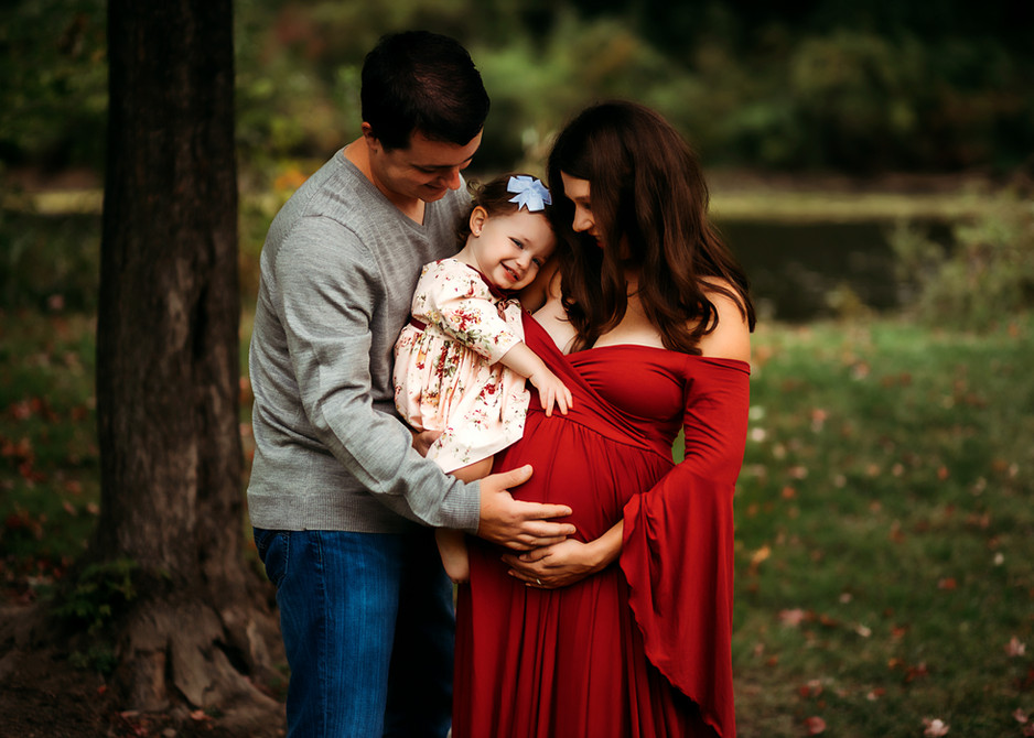 St Charles IL Maternity and Family Photography Session
