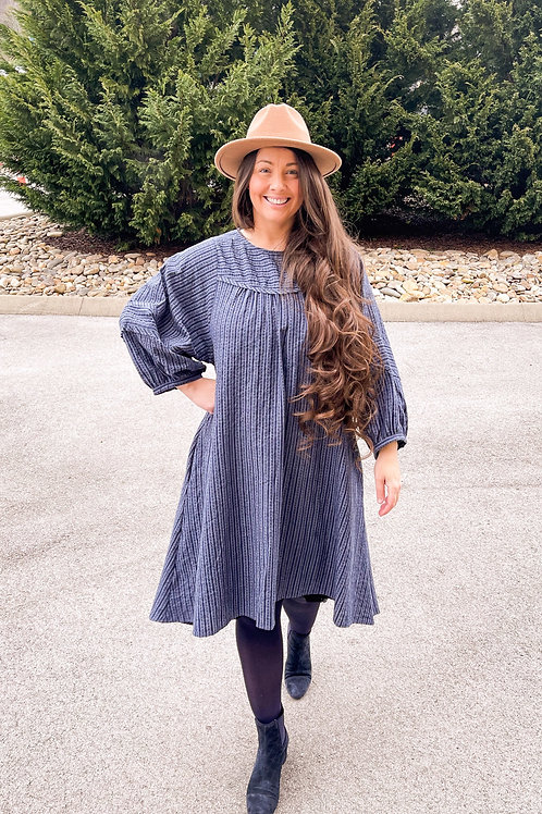 The Whitley Dress in Denim