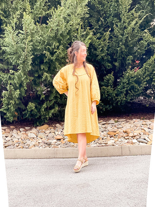 The Whitley Dress in Sunshine