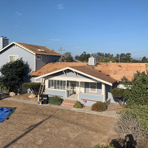 Roof demolition by JCR Construction