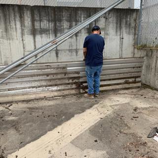 WHJFL at work removing unwanted debris