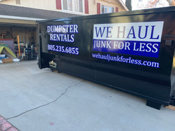 Local roll off dumpster rentals We Haul