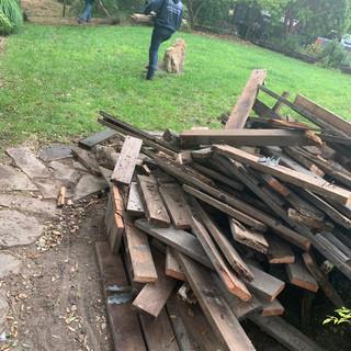 Fence Demolition in Arroyo Grande
