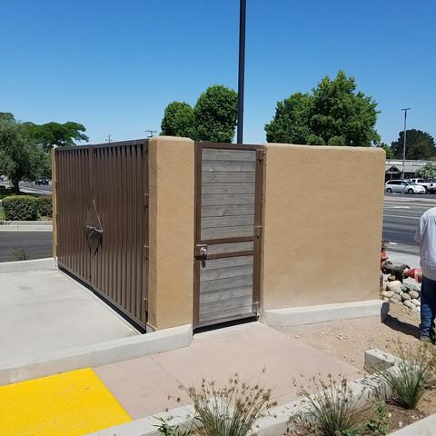 Trash Enclosure by JCR Construction