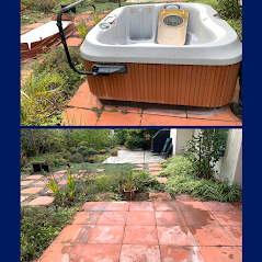 Removed old jacuzzi