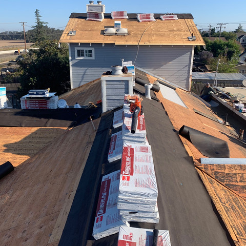 Residential Roof Prep by JCR Constructio