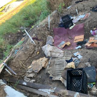 Homeless Encampment Clean Up in Santa Ma