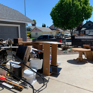 Residential clean out in San Luis Obispo