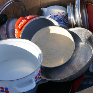 Donate pots and pans