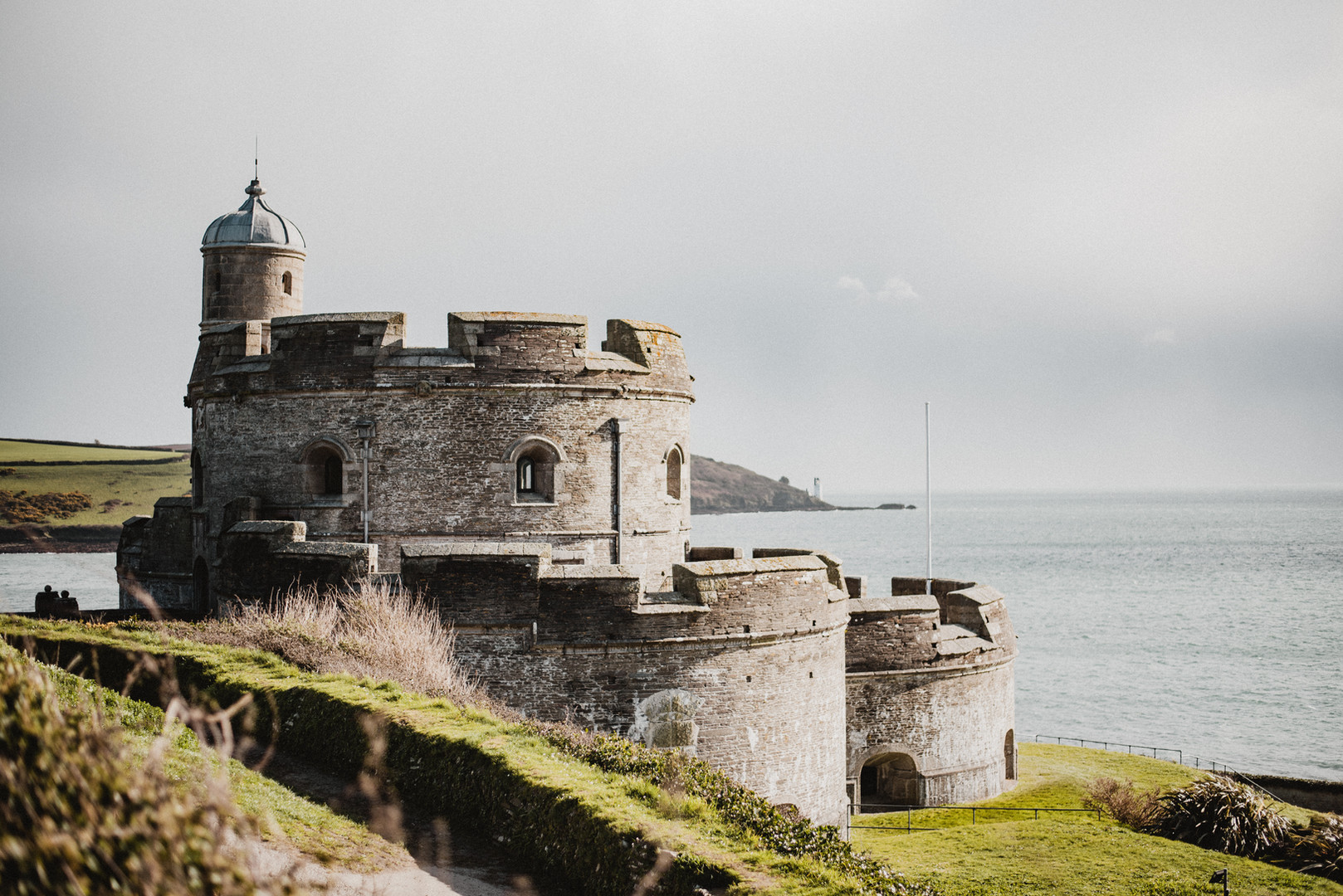 St Mawes Castle has stood on the coast of England since the mid-1500s, when Henry VIII had it built to serve as protection from France and Spain.  Mary Kathryn Carpenter