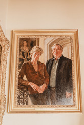 James and Mary St Aubyn, the Lord and Lady St Levan, maintain the castle while living there. They moved there in 2003 with their four children.   Mary Kathryn Carpenter