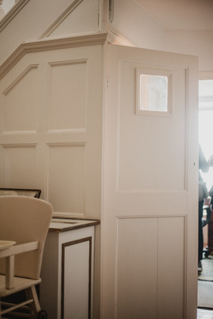 In the movie About Time, the main character Tim can be seen running for this closet after humiliating himself by accidentally dumping sunscreen on his love interest.  Wanderlost Magazine   Mary Kathryn Carpenter