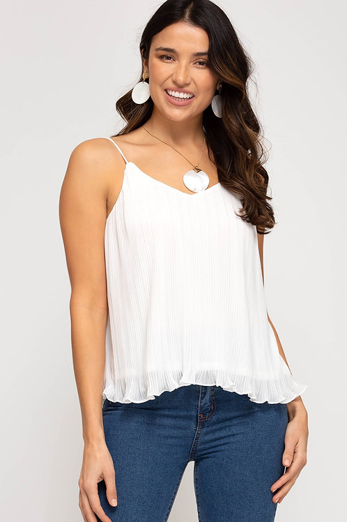 Pleated Dreams Tank