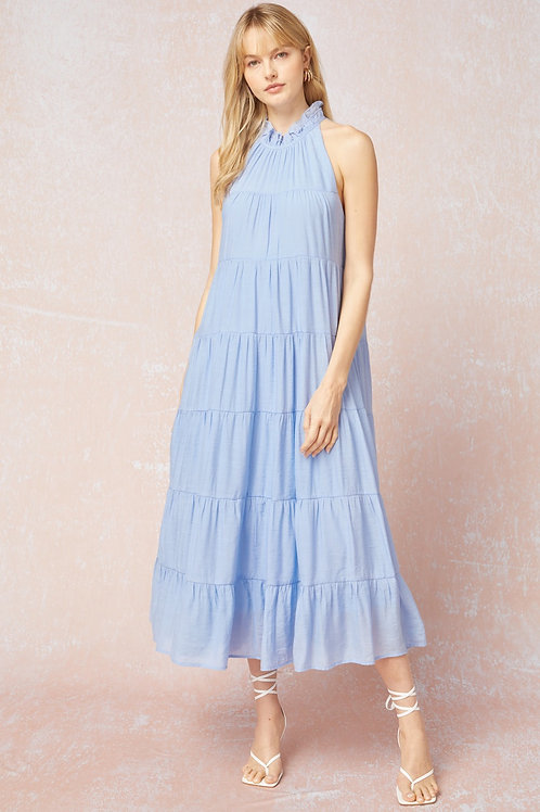 Tiered Bluebell dress