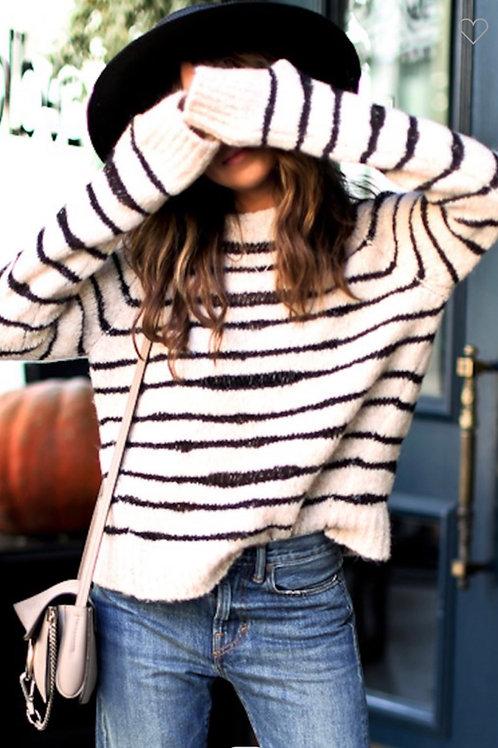 Cozy Stripe Sweater