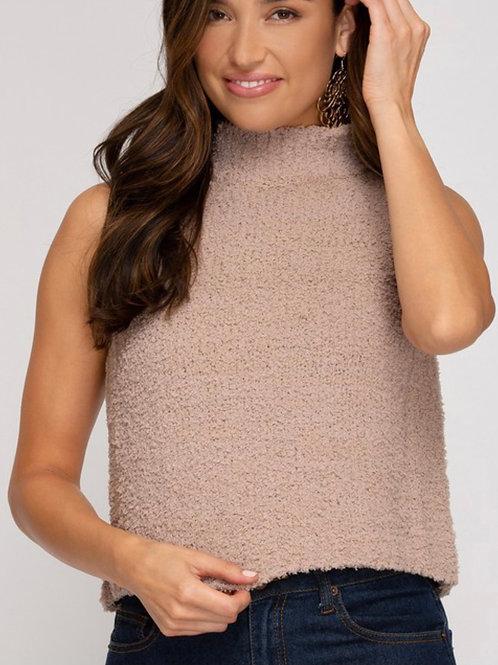 Sleeveless Sweater Tank