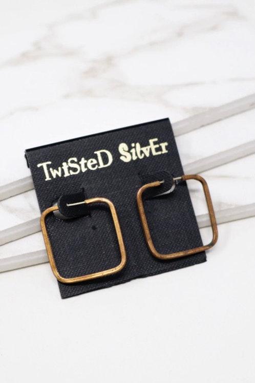 Twisted Silver - SMART Earrings