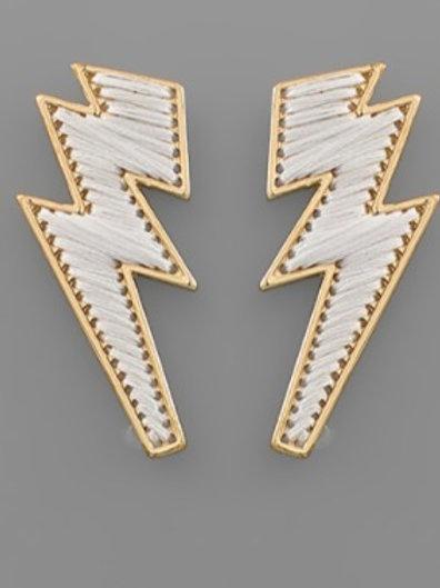 Threaded Bolt Earrings