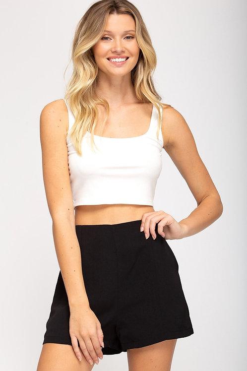 Dressy Black Shorts