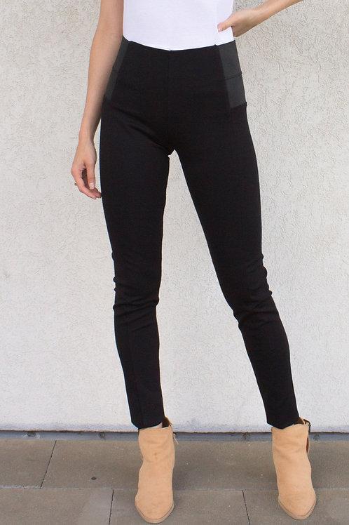 Paneled Stretchy Leggings