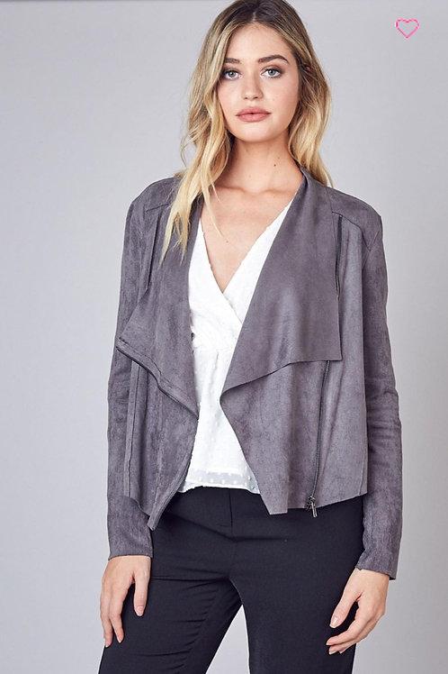 Front Drape Jacket