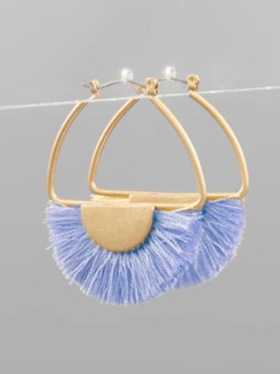 Fringe Crescent Hoops