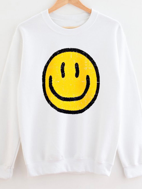 Don't Worry, Be Happy - Graphic Sweatshirt