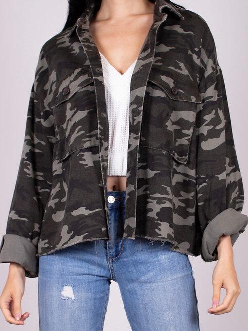 Camo Oversized Jacket