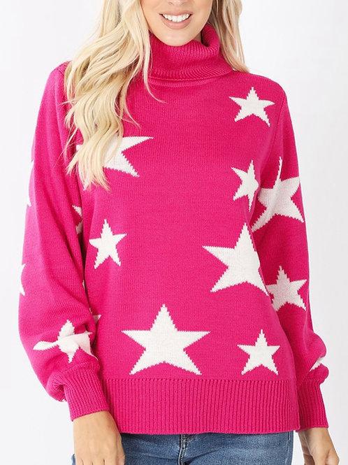 Star Struck - Turtleneck Sweater