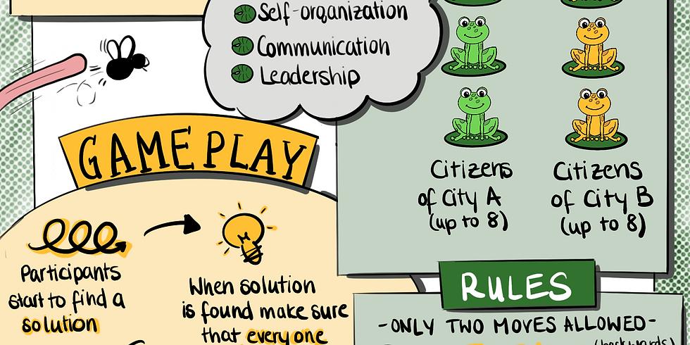 MDAZE #5 Meetup: Leadership erleben mit dem Commuter Game