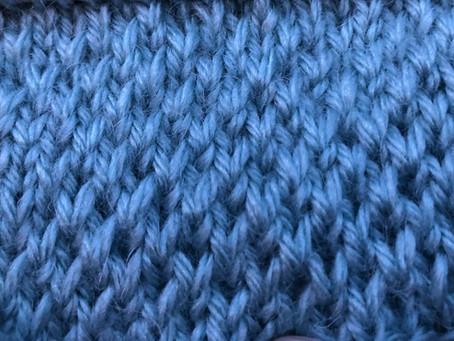 Stunning Slip Stitch Texture: Knit Stitch of the Week