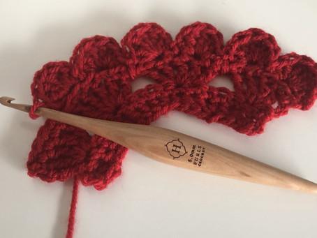 Full Hearts Crochet Border