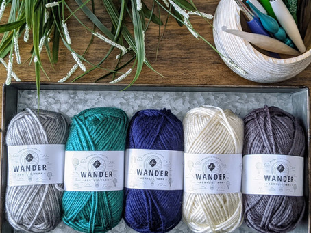 New Wander Acrylic Yarn Review