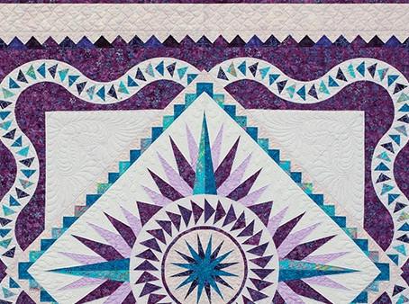 Prancing Peacock Quilt - We Begin