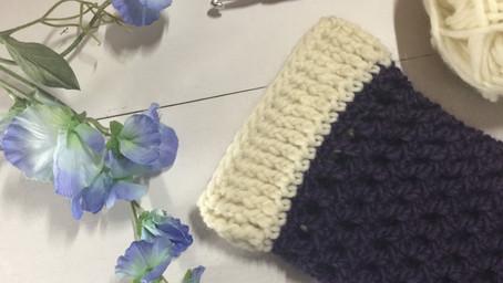 Crochet Cuffs Round The Post