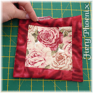 Valentine Fabric Origami Candle Mat - Part 2