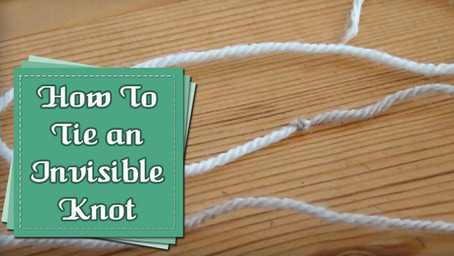 Joining Yarn with an Invisible Knot