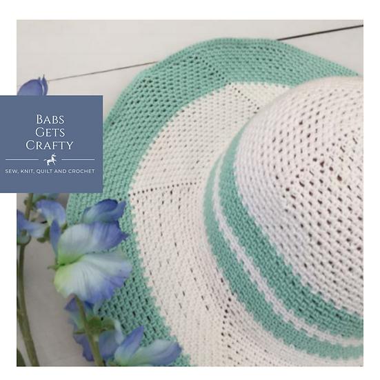 Derby Sunhat - Crochet