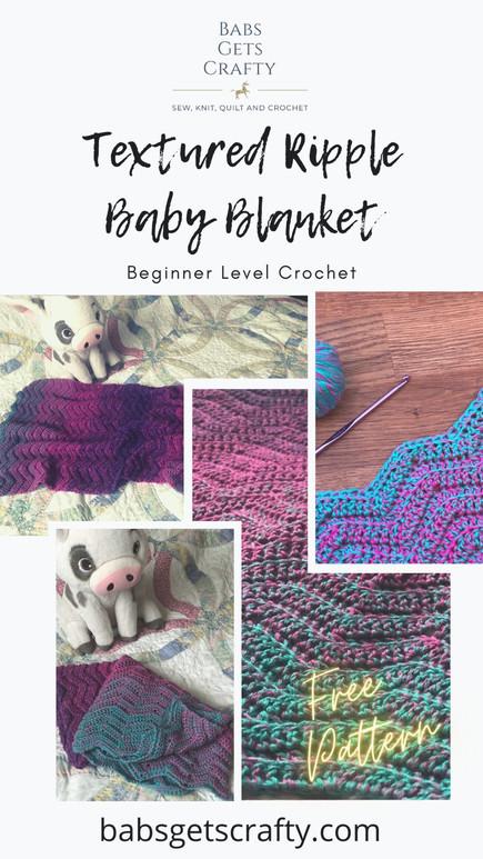 Textured Ripple Baby Blanket