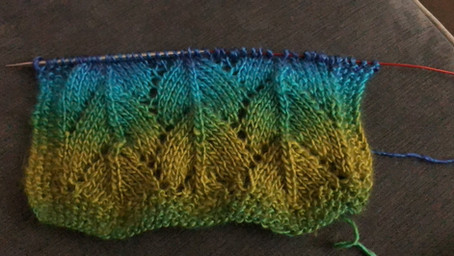 Dragonscale Scarf Free Pattern