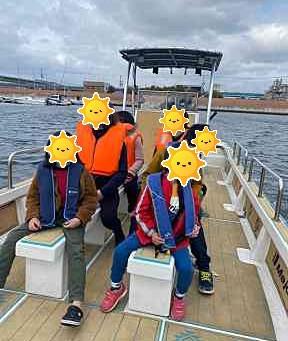 堺港クルージング!!