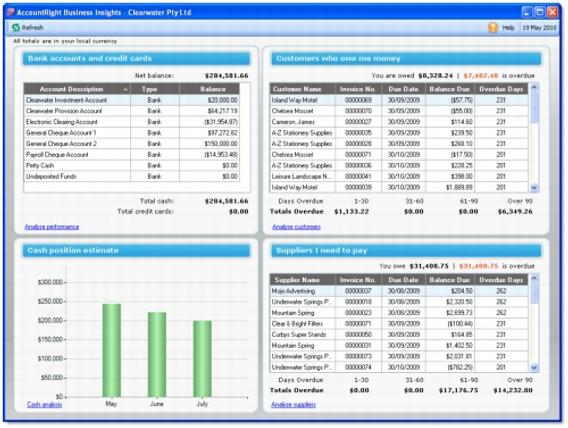 ABSS MYOB 商業智能 | ABSS MYOB 最新版本功能