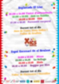 Cartell horaris activitats
