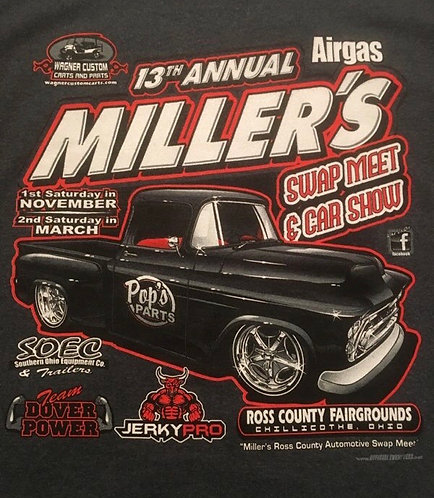13th Annual Miller's Swap Meet and Car T-Shirt