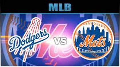 LA Dodgers Vs. NY Mets