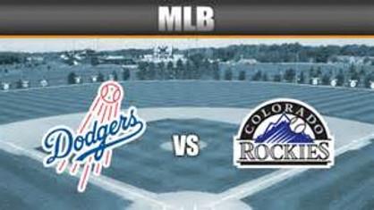 LA Dodgers Vs. Colorado Rockies