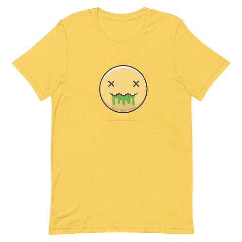 Acid Trip Yellow AF Short-Sleeve Unisex T-Shirt