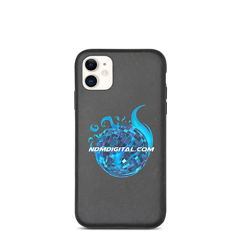 Astral Flame Disco Ball Biodegradable iPhone Case